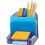 Blue Glacier 6-Compartment Desktop Organizer