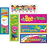 Trend Enterprises 2x 6 Celebrate Reading Variety Pack #1 Bookmark Combo Pack, 216/Pack