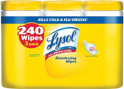 How to use disinfecting wipes to prevent the spread of colds