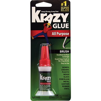 Krazy® All Purpose Brush-On Glue, 5g