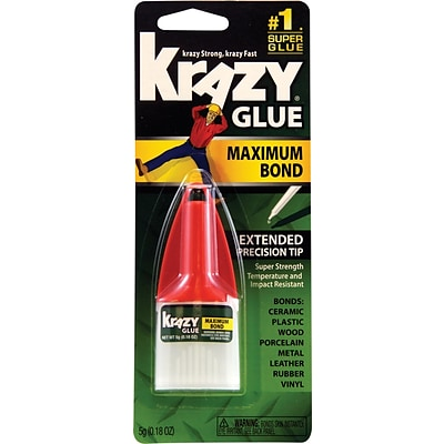 Krazy® Glue Advanced Formula; .18 oz., Ea
