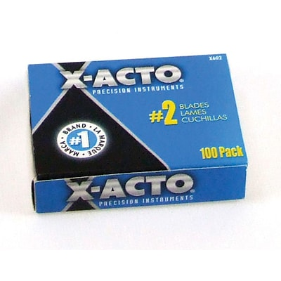 X-Acto® #2 Bulk Pack Replacement Blade For X-Acto® Knives