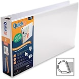 Stride® QuickFit® 2 D-Ring View Binder