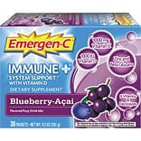 Emergen-C® Immune+ Formula, 0.3 Oz., Blueberry Acai, 30/Pack