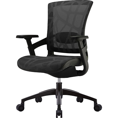 Skate Ergonomic Mesh Back Office Chair Black