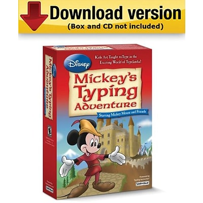 Software Disney: Mickeys Typing Adventure Mickey Mouse and Friends for Mac (1 User) [Download]