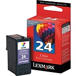Lexmark™ 24A Color Ink Cartridge; 18C1624, Standard