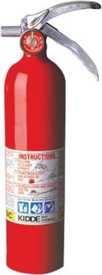 Kidde 468000 Dry Chemical Fire Extinguisher, 2.6 lbs.