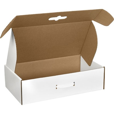 Staples 18-1/4L x 11-3/8W x 04-1/2D Carrying Case Literature Mailers (MCC4)