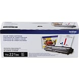 Brother Genuine TN221BK Black Original Laser Toner Cartridge