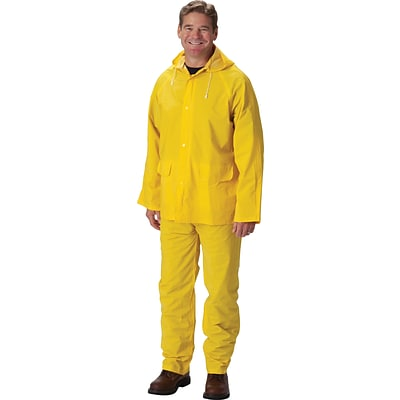 Falcon™ Rainsuits, Premium .35 mm with Jacket, Yellow, 2-XL