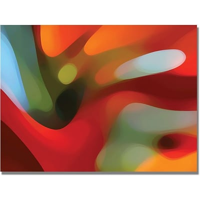 Trademark Global Amy Vangsgard Red Tree Light Canvas Art, 35 x 47