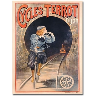 Trademark Global Cycles Terrot 1900 Canvas Art, 47 x 35