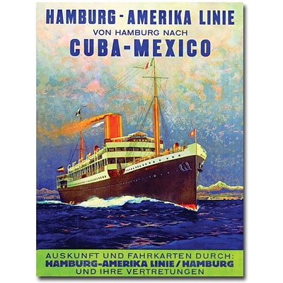 Trademark Global Cuba Mexico, 1899 Canvas Art, 47 x 35