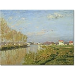 Trademark Global Claude Monet The Seine at Argenteuil, 1873 Canvas Art, 26 x 32