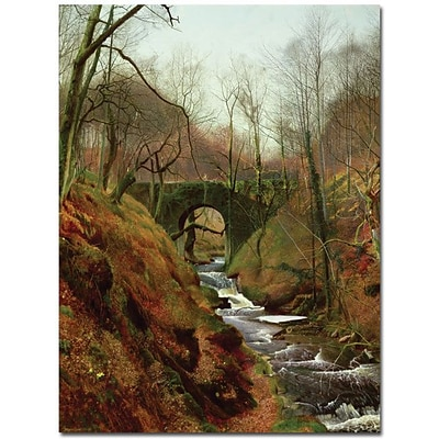 Trademark Global John Atkinson Grimshaw March Morning Canvas Art, 32 x 26