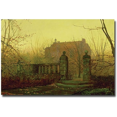 Trademark Global John Atkinson Grimshaw Autumn Morning Canvas Art, 16 x 24