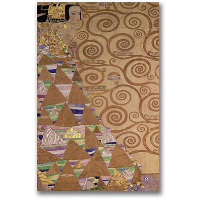 Trademark Global Gustav Klimt Expectation c.1905 9 Canvas Art, 30 x 47
