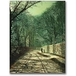 Trademark Global John Atkinson Grimshaw Tree Shadows in the Park Wall Canvas Art, 24 x 18