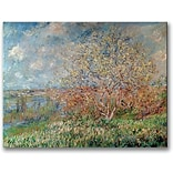 Trademark Global Claude Monet Spring 1880 Canvas Art, 24 x 32