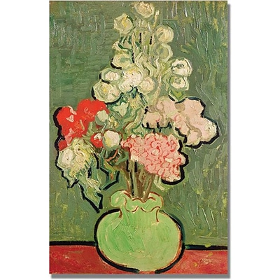 Trademark Global Vincent Van Gogh Bouquet of Flowers Canvas Art, 47 x 30