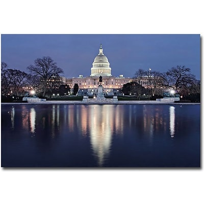 Trademark Global Gregory Ohanlon Capitol Reflections Canvas Art, 16 x 24
