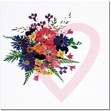 Trademark Global Kathie McCurdy Love Bouquet Canvas Art, 24 x 24