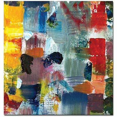 Trademark Global Michelle Calkins Color Relationships III Canvas Art, 24 x 24