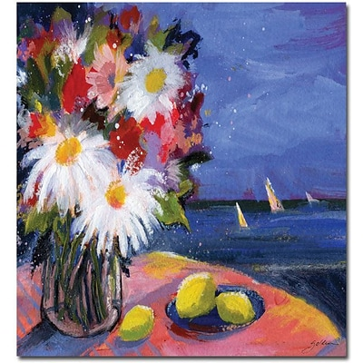 Trademark Global Sheila Golden Out to Sea Canvas Art, 32 x 24