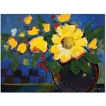 Trademark Global Sheila Golden Fiesta Canvas Art, 24 x 32