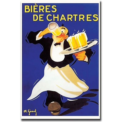 Trademark Global Bieres de Chartres Canvas Art, 32 x 26