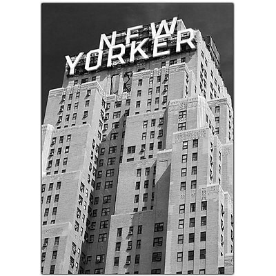 Trademark Global Yale Gurney New Yorker Canvas Art, 47 x 35