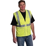 ANSI Class 2 Yellow Mesh Safety Vest, XL