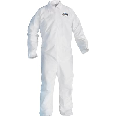 KleenGuard® Breathable Particle Protection Coveralls, A20, 3XL, No Elastic