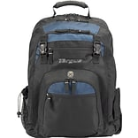 Targus® Nylon Navy and Black Laptop Backpack, 17, XL (TXL617)