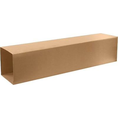 10.5 x 10.5 x 48 Shipping Boxes, Brown, 20/Bundle, Box 2 of 2 (T101048OUTER)