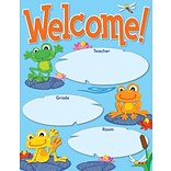 Carson-Dellosa FUNky Frogs Welcome, Chart