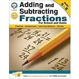 Mark Twain Adding and Subtracting Fractions Workbook