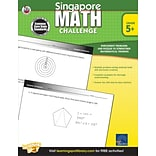 Frank Schaffer Singapore Math Challenge Workbook, 352 pages