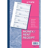 Tops® Carbonless Money Receipt Book; 2-Part