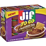 Jif® To Go™ Chocolate Silk Spread, 1.5 oz. Cups, 8 Cups/Box (5150024112)