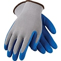G-Tek® Coated Work Gloves, CL Seamless Cotton/Polyester Knit With Latex Coating, Large, 12/Pr