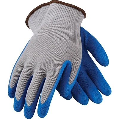 G-Tek® Coated Work Gloves, CL Seamless Cotton/Polyester Knit With Latex Coating, XL, 12/Pr