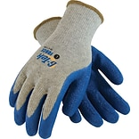 G-Tek® Coated Work Gloves, Force Seamless Cotton/Polyester Knit With Latex Coating, Large, 12/Pr