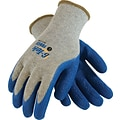 G-Tek® Coated Work Gloves, Force Seamless Cotton/Polyester Knit With Latex Coating, XL, 12/Pr
