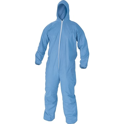 KleenGuard® A65 3XL Flame Resistant Protective Coverall, Blue 417-45326)
