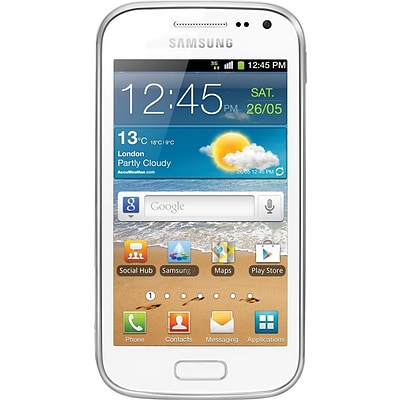 Samsung Galaxy Ace 2 I8160 GSM Unlocked Android Cell Phone, White