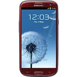 Samsung Galaxy S III 16GB I9300 GSM Unlocked Android Cell Phone, Red