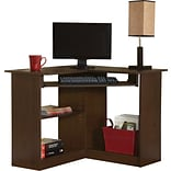 Easy 2 Go 36 Corner Desk, Brown (951572-CC)