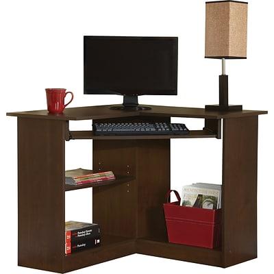 Go 36 Corner Desk Brown 951572 Cc, Corner Desk Brown